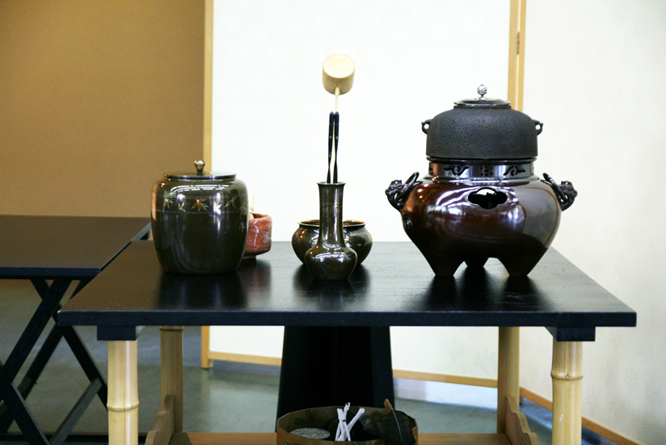 Japan: tea ceremony, teapot