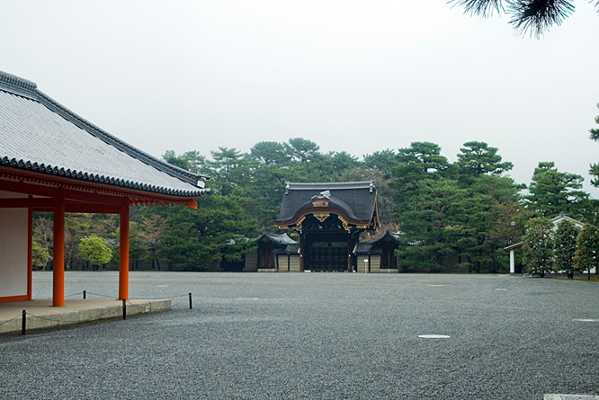 Japan, Imperial Palace in Kyoto 2