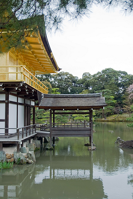 Japan, Kyoto, Kinkaku-ji temple 2