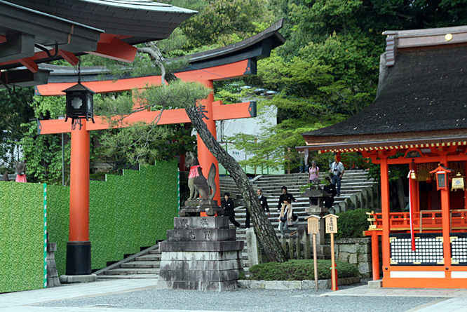 Japan, Kyoto, Shinto shrine 2