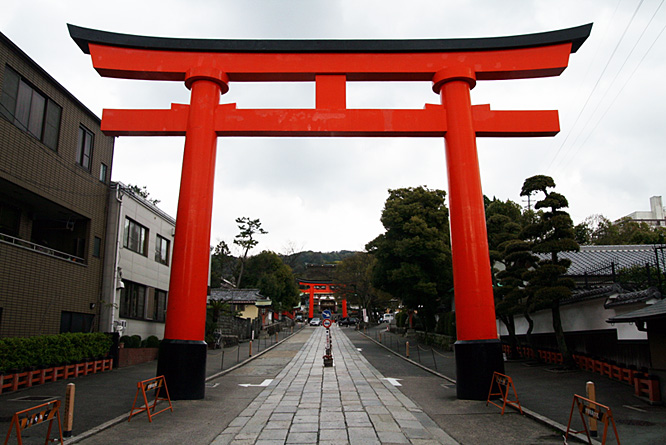 Japan, Kyoto, Shinto shrine