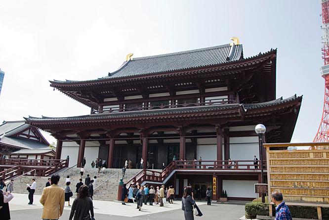 Japan, Tokyo, Buddhist temple