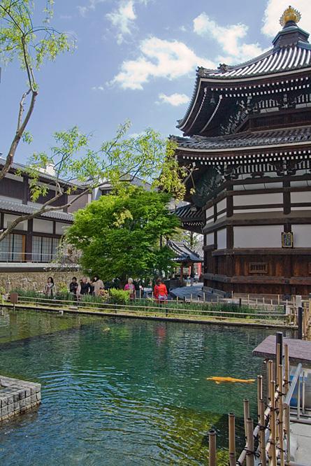 Japan, beautiful temple