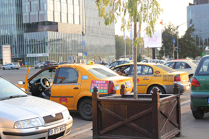 Romania, Bucharest taxis