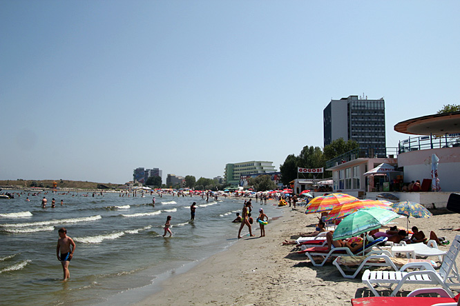Romania, Mamaia, seaside