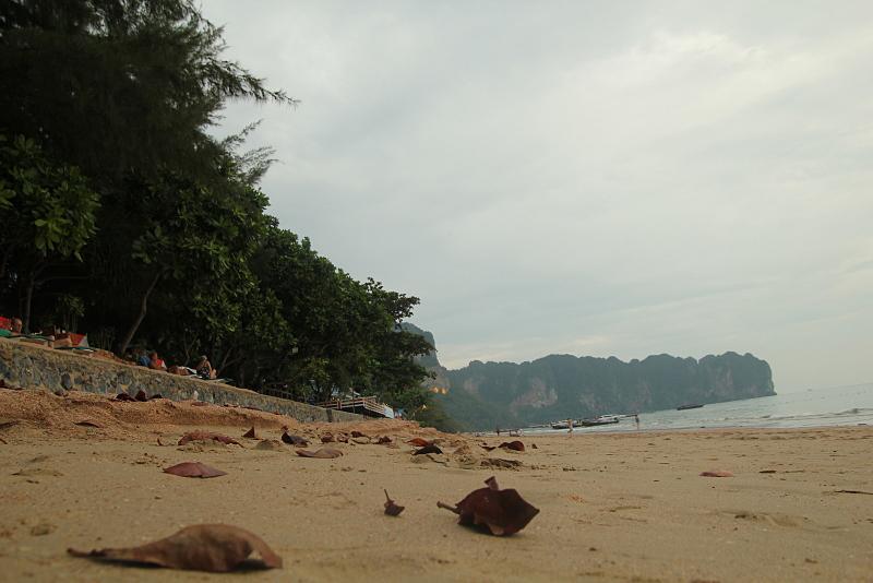 Sand on the Thailand beach