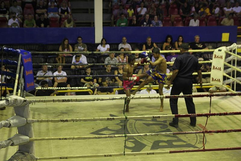 Muay Thai (Thai boxing) in Thailand