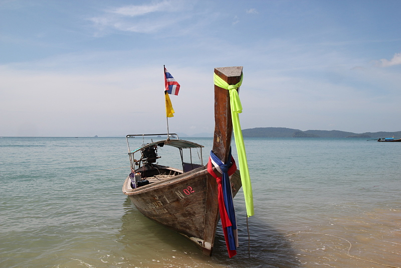 Long tail boat in Thailand