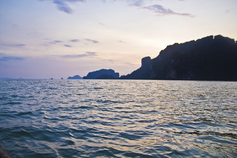 Unbelievably beautiful ocean in Thailand