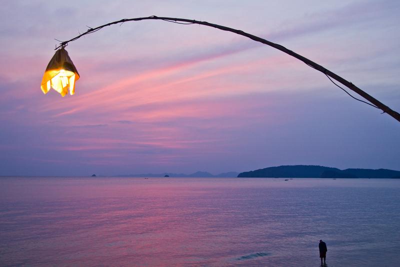Breath-taking sunset photo