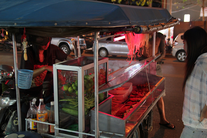 Street food in Thailand