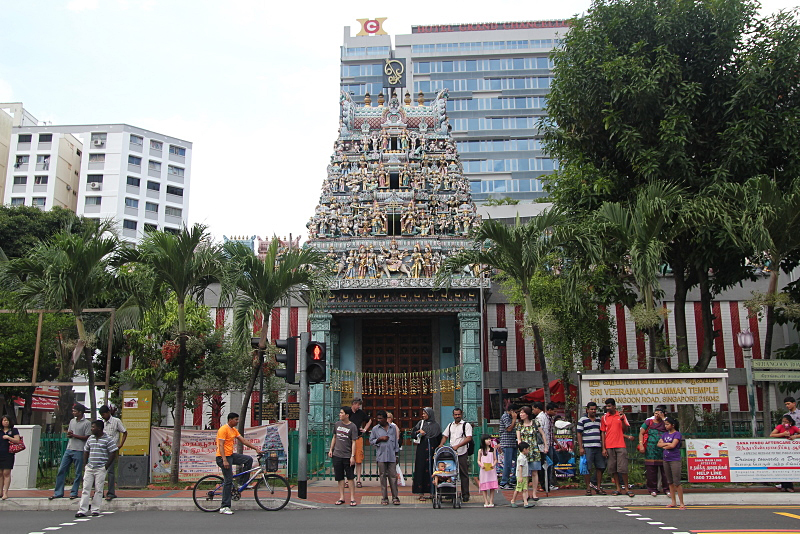 Indian temple in Singapore, Little India