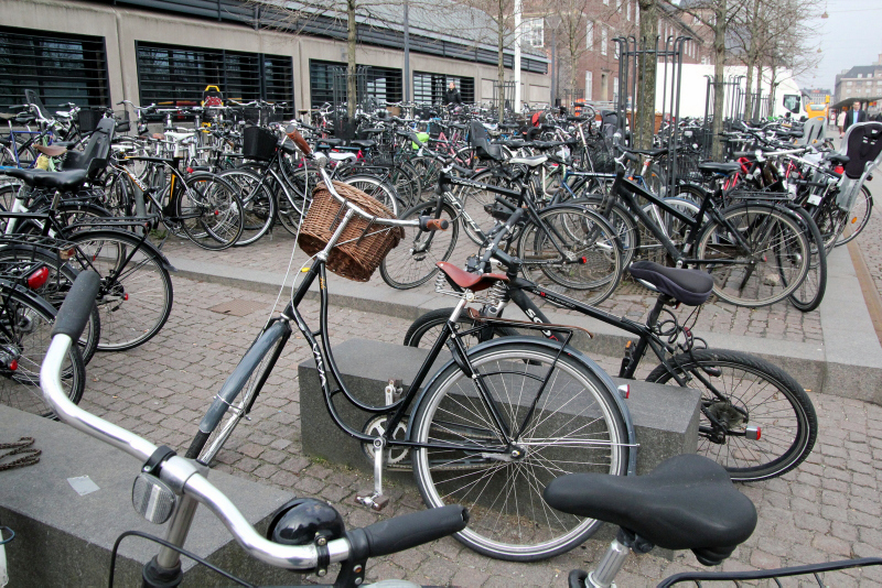 Copenhagen, bicycles