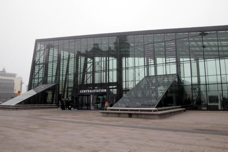 Malmö, train station